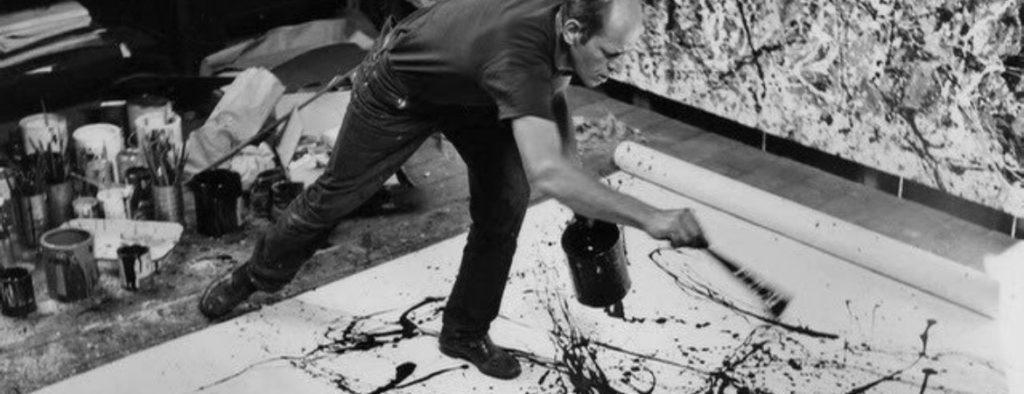 jackson pollock painting max rovira