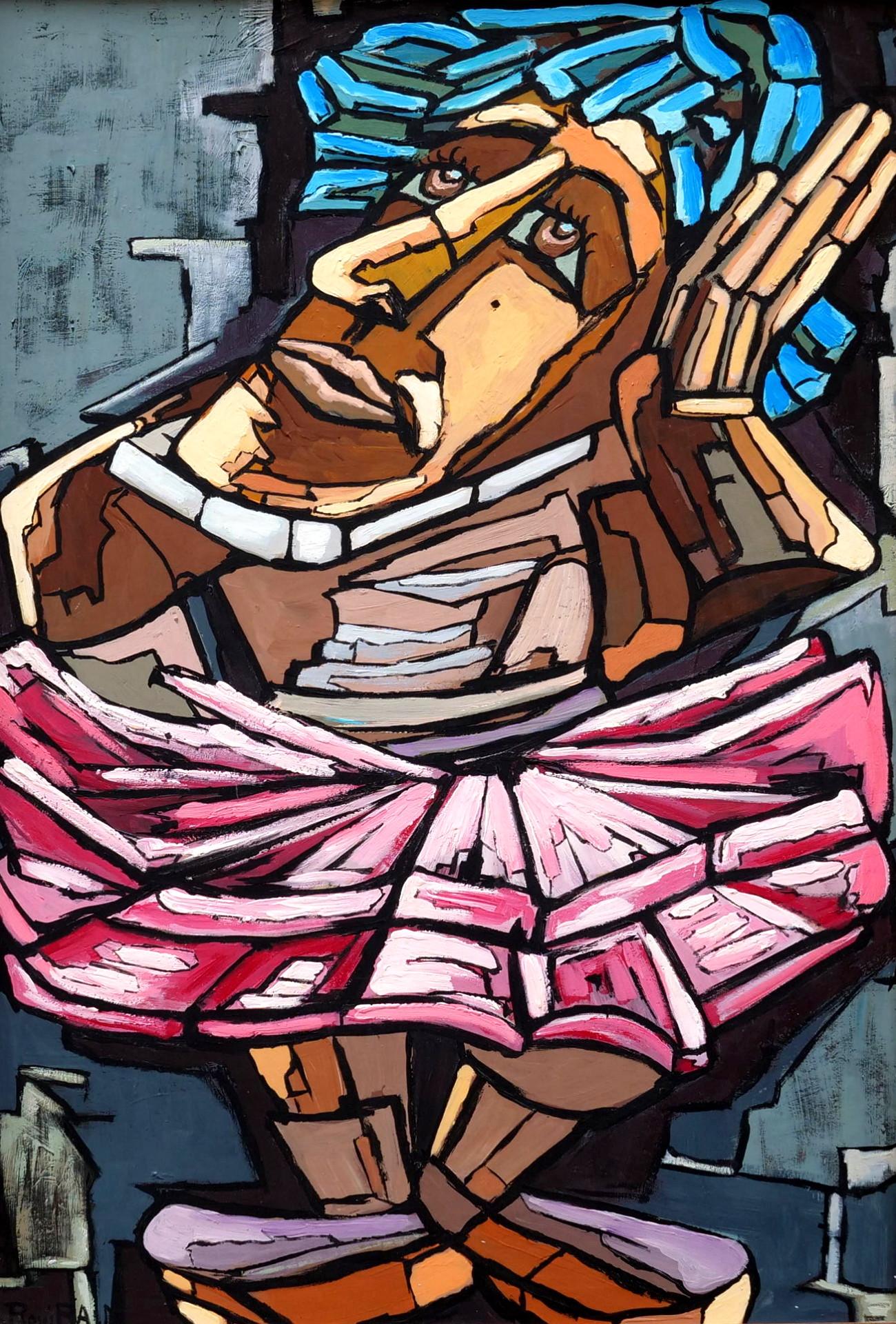 max rovira artiste peintre collioure travesti de la liberté